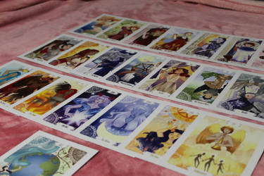TAROT CARDS FOR SALE + FREE DRAWING by Mothpress