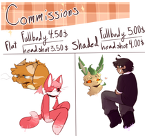 Commission sheet [OPEN] by Abberistired