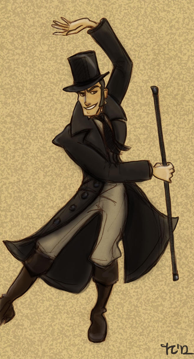 Astaire Javert by trenchWeasel