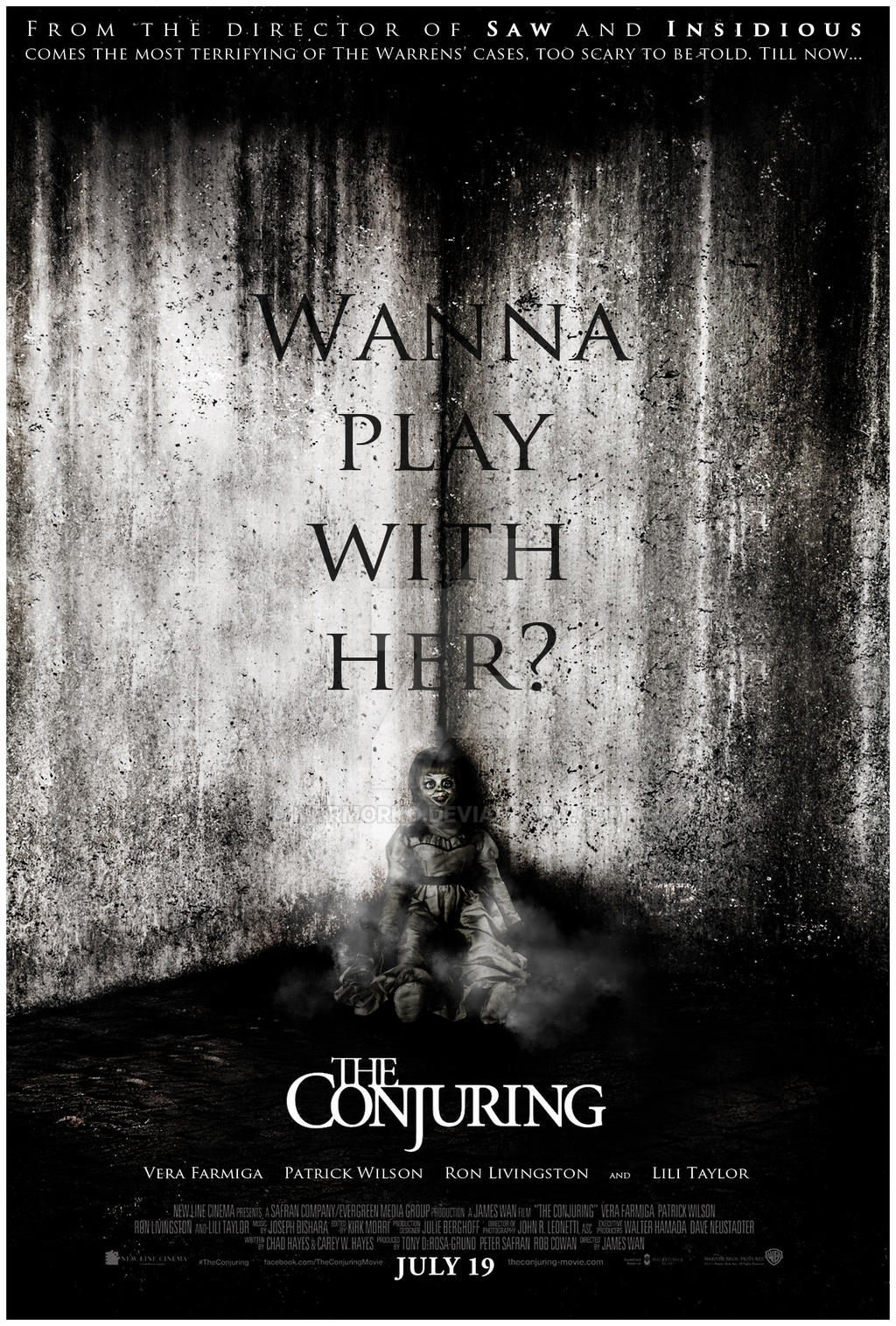 The Conjuring (2013) 720p BluRay x264 [English DD 5 1 + Hindi DD 2 0] - aBHIsONA