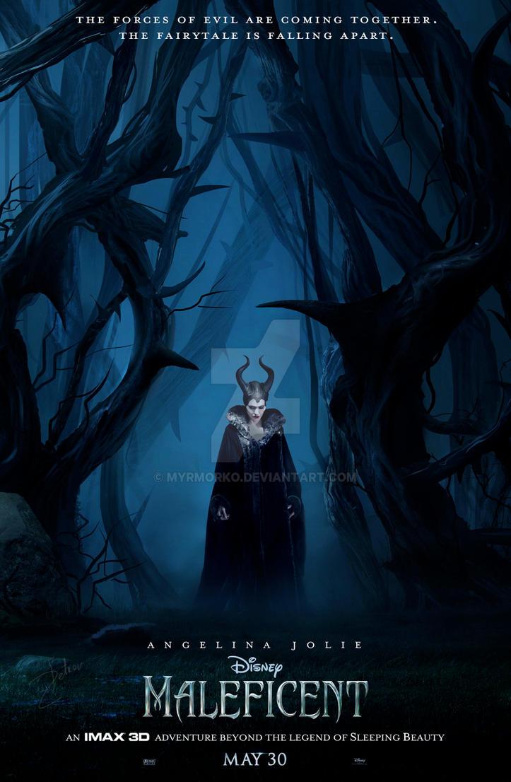maleficent 2014 by myrmorko on deviantart