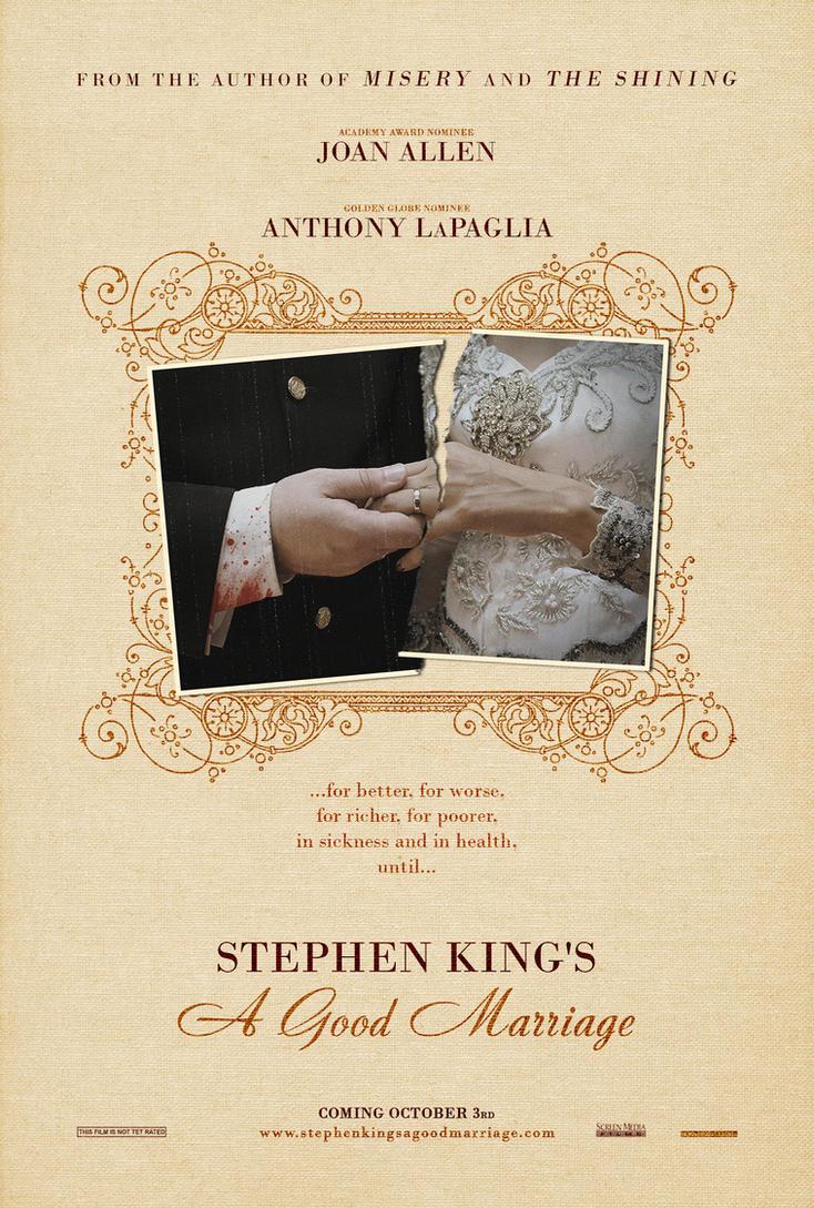 Stephen King's A Good Marriage (2014) by myrmorko