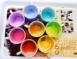 I drank Rainbow by SubhadipKoley