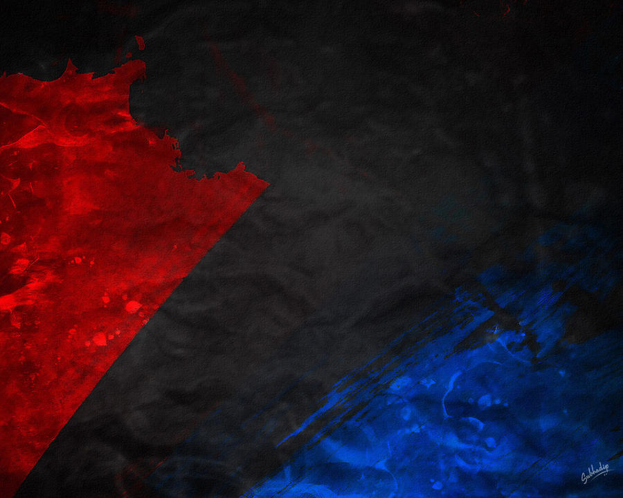 gallery for red and blue wallpaper