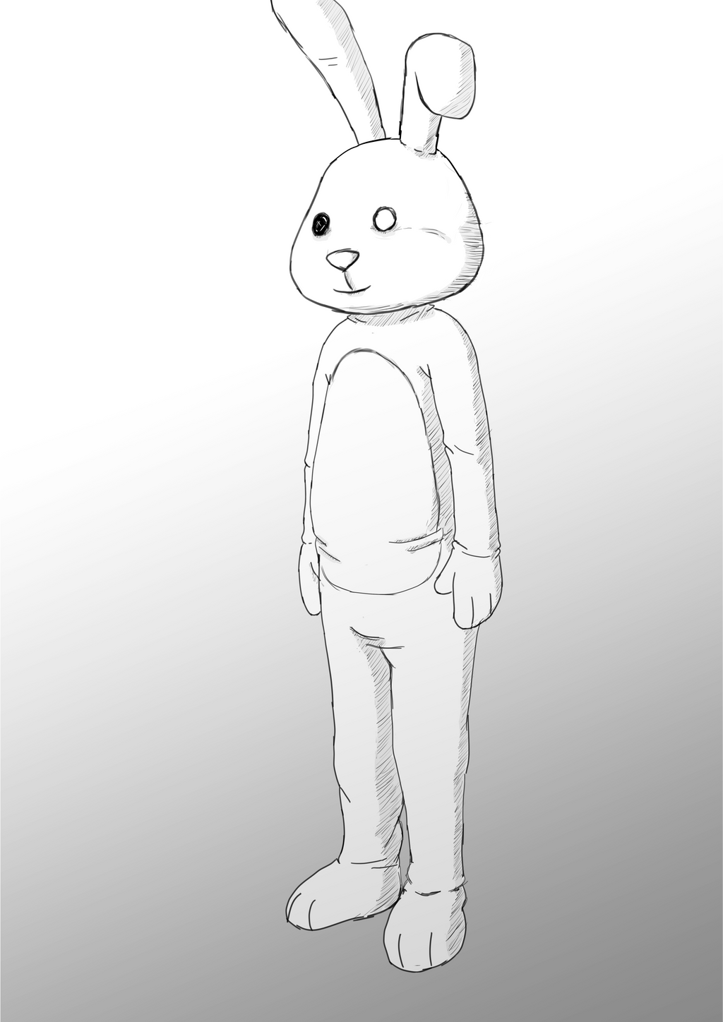 bunny Sketch by wishes0007