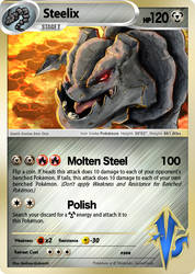 Vs2 UTW 2015 Entry : Steelix by elginive