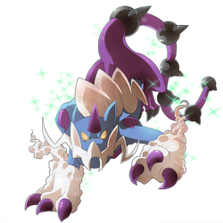 Type Collab: Thundurus Therian Forme Shiny by elginive