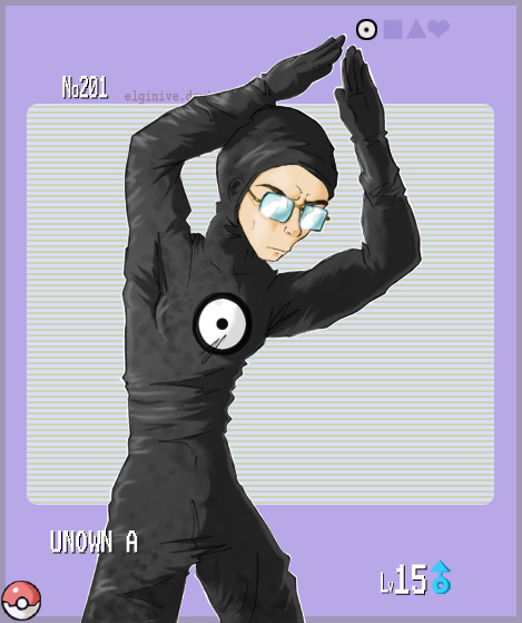 Gijinka PKMN- Unown by elginive on DeviantArt