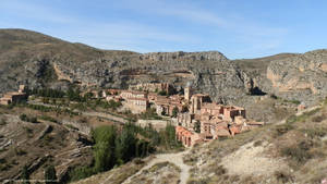 Albarracin from the walls