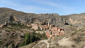 Albarracin from the walls