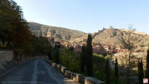 Albarracin from the castle