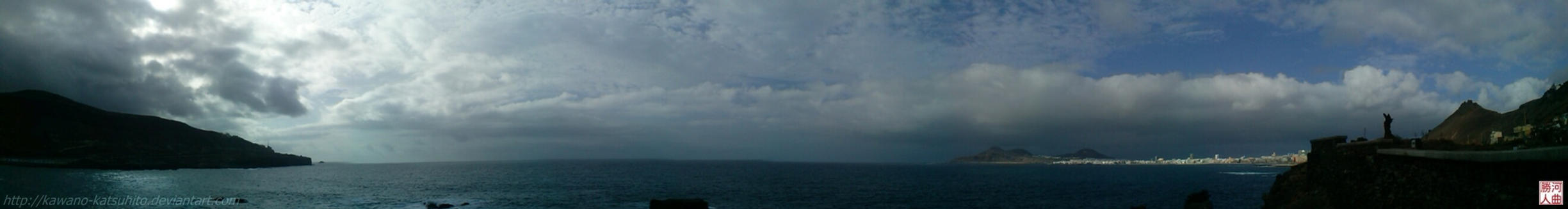 Panorama of North Gran Canaria by kawano-katsuhito