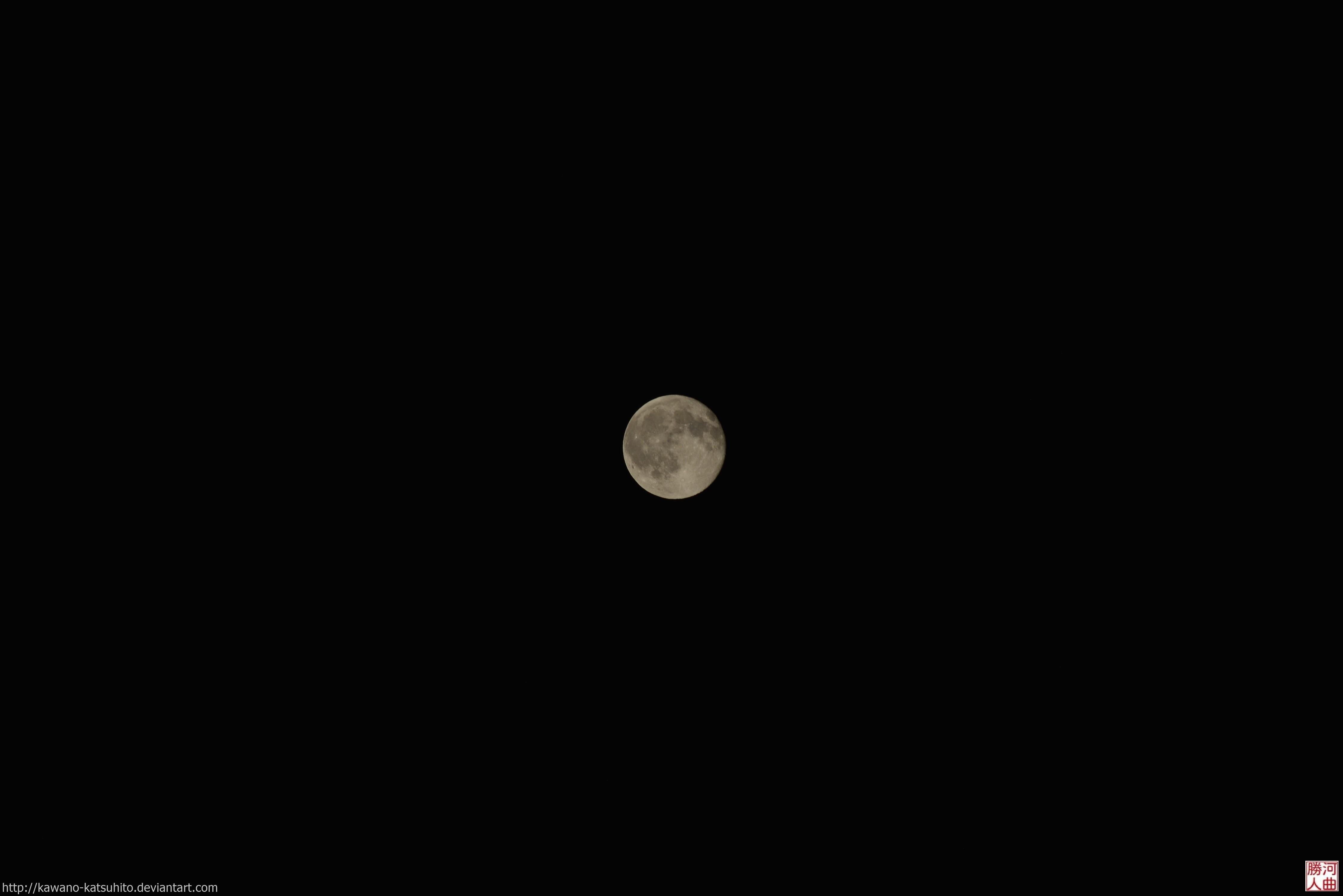 Full moon by kawano-katsuhito