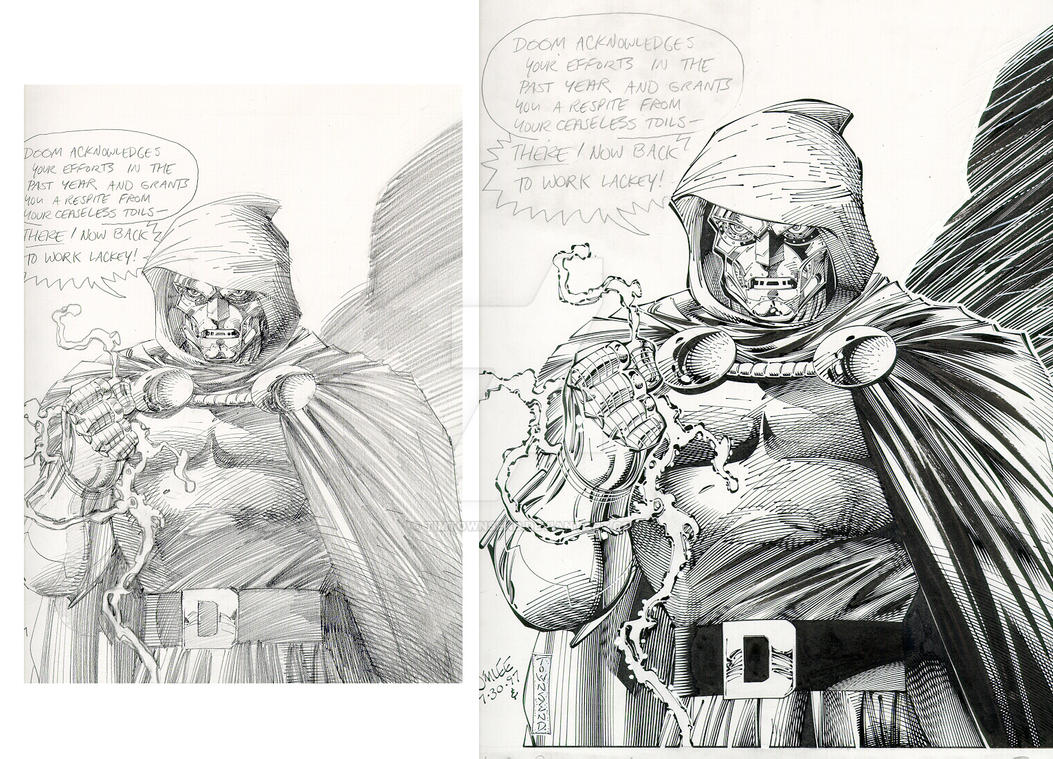 Jim Lee DOCTOR DOOM by TimTownsend