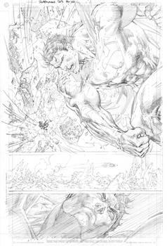 Jim Lee SUPERMAN pencils