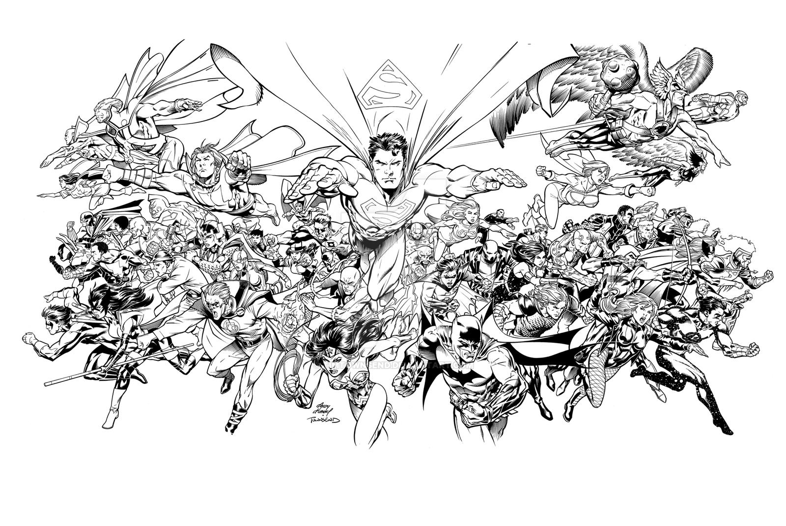 Dc comics countdown cover by timtownsend on deviantart for Dc universe coloring pages