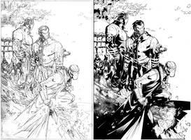New X-Men splash by TimTownsend