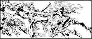 Uncanny X-Men 325 recreation