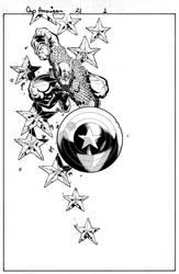Captain America splash 3 by TimTownsend
