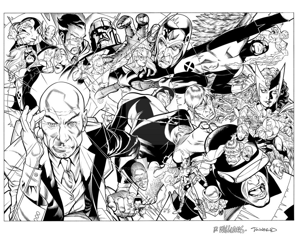 X Men First Class by TimTownsend