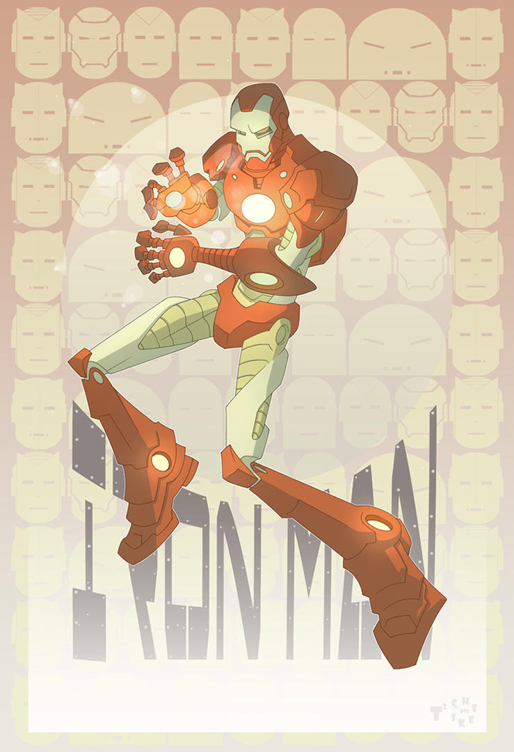 Townsend IRON MAN redux by TimTownsend