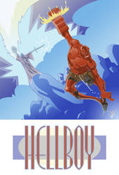 Old Hellboy, new.