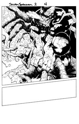Sinister Spider Man page