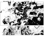 New Avengers pages by TimTownsend