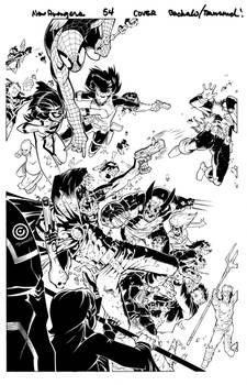 New Avengers 54 cover