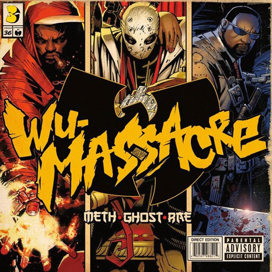 WU-MASSACRE album cover by TimTownsend