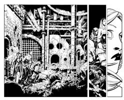 X-Men 7 pgs 16 and 17 by TimTownsend