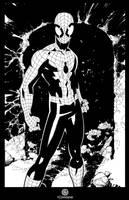 X-Men 7 Spidey splash by TimTownsend