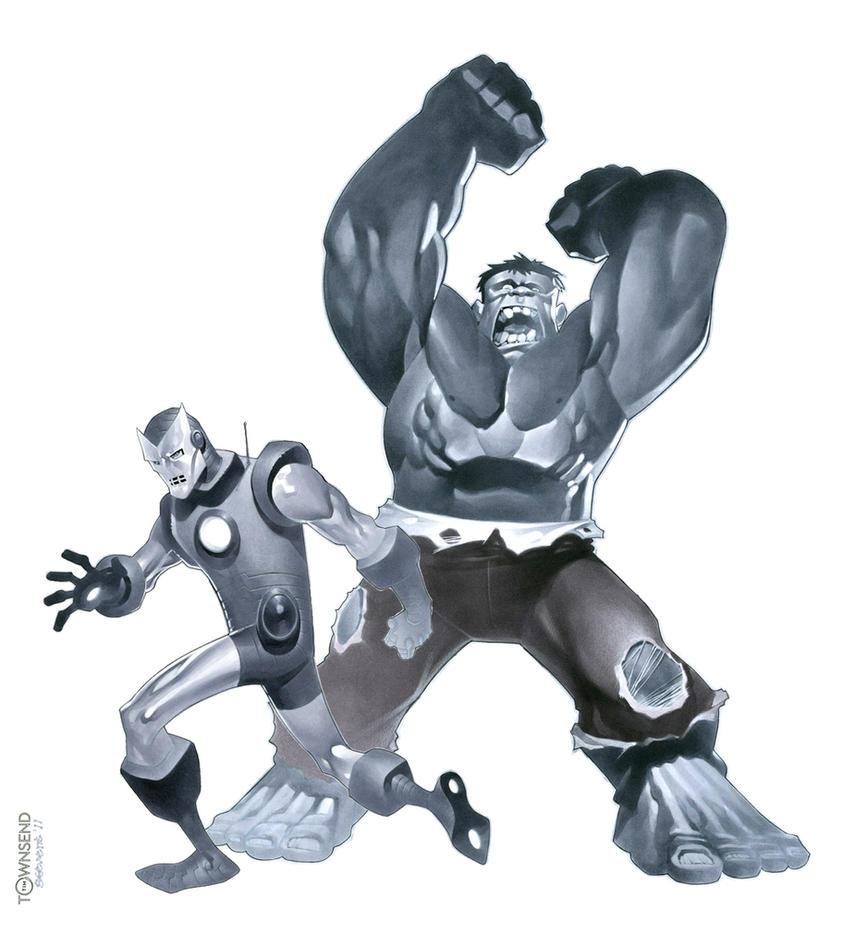 Classic Avengers sneak peak 1 by TimTownsend