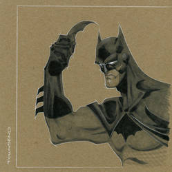 Chip board Batman by TimTownsend