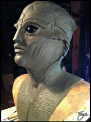 Thane Krios - Cosplay Mask - 5