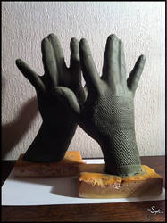 Thane Krios - Cosplay Gloves - 1