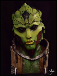 Thane Krios - Lifesize Sculpture Bust - 1 by Syn-Prods