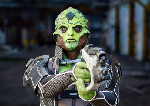 Thane Krios Cosplay from Mass Effect by Syn