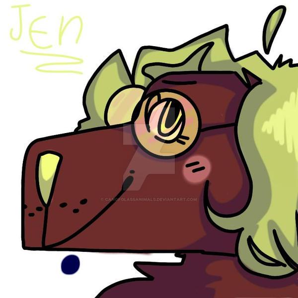 Jen By Canofglassanimals On Deviantart