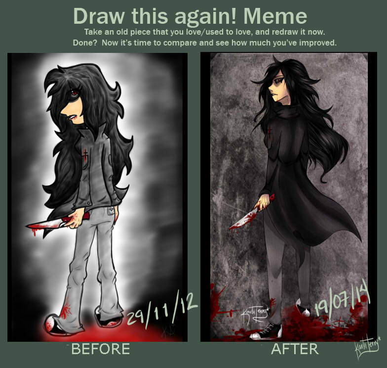 Draw this again meme! by KarlaTerry