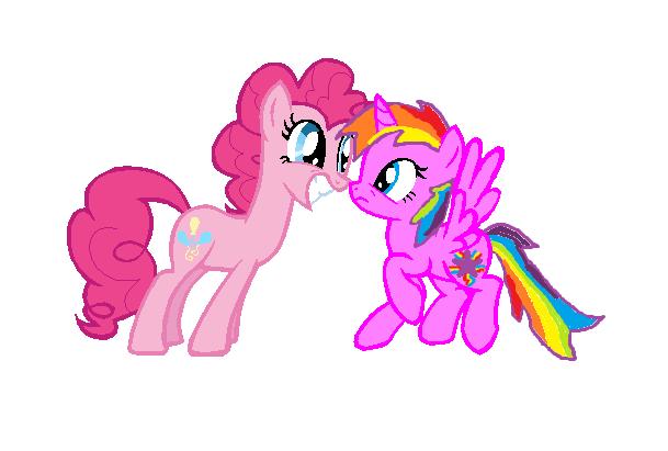 he..he..hey Pinkie... by Rainbowmagic6444