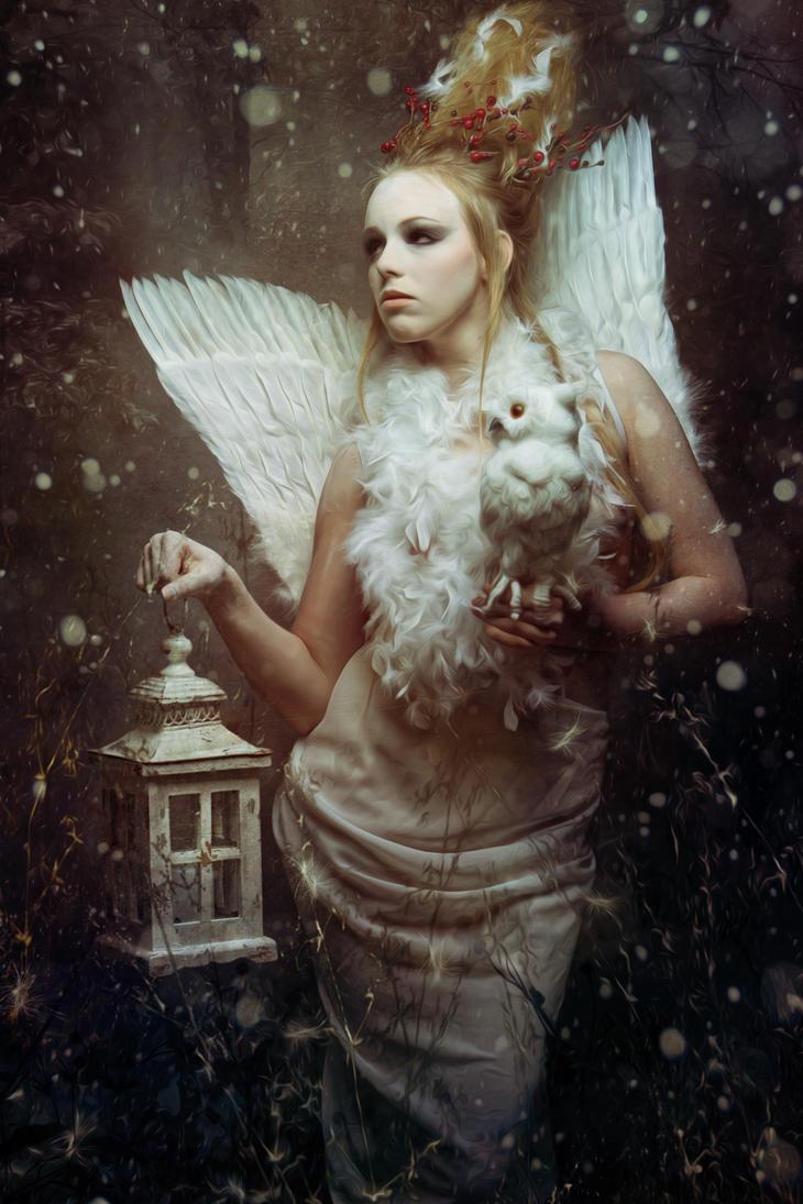 Goddess of Wisdom by Spiegellicht