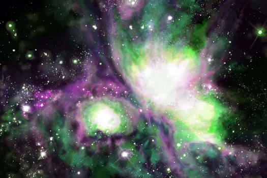 Orion in Green