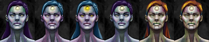 Nephthys - Scifi Character Design