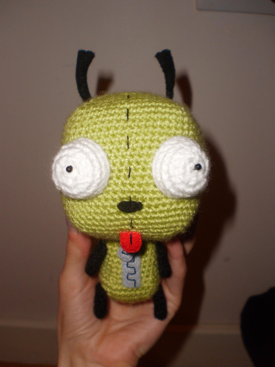 Crochet Gir Plushie by Surroth
