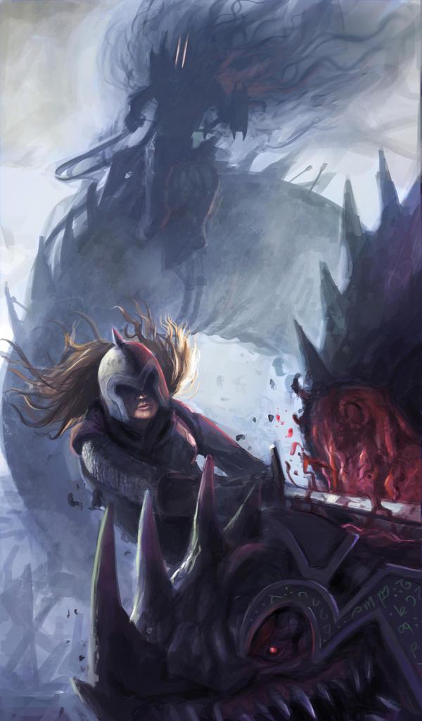 Eowyn vs the Nazgul