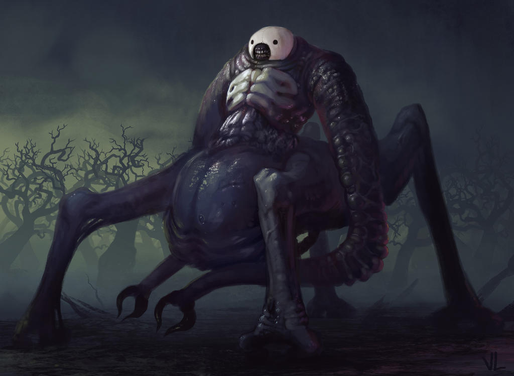 Nightmare Creature By Venishi On Deviantart