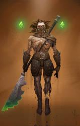 Rising Blademaster by Venishi