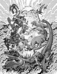 Dinos vs Robots - Excision