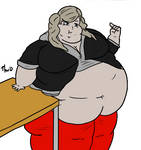 Pudgy Persona 5 girl